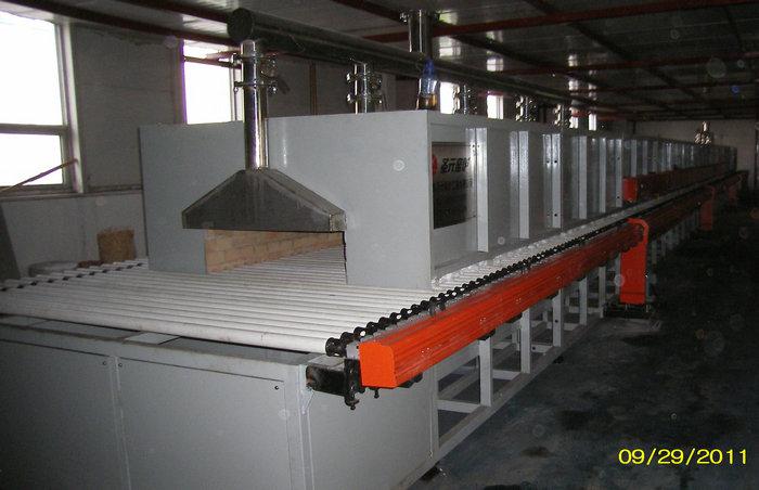 23.92-米电热辊道窑(温度:1250℃,用途:氧化铝超微粉焙烧)