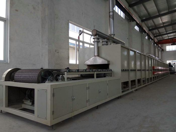 26.5米-0.8米电热网带窑(温度:700℃,用途:蜂窝陶瓷载体)