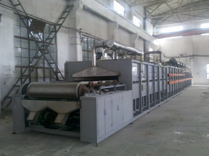 27-1.76米型电热网带窑(温度:650℃,用途:催化剂)