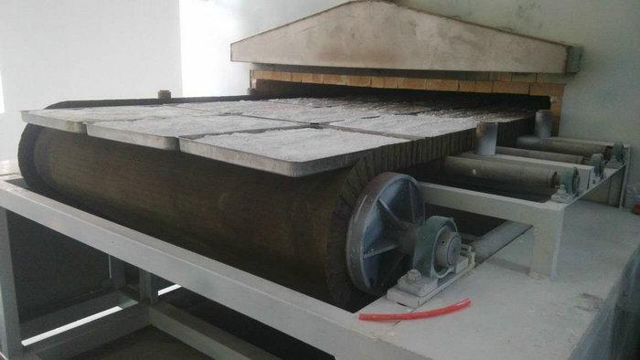 32米-1.6米燃气隔焰网带窑(温度:780℃,用途:催化剂)