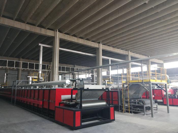 47米-1.65米电热网带窑(温度:750℃,用途:催化剂)