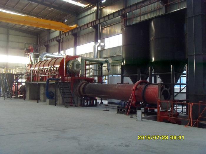 φ0.94x11.5米燃气焙烧回转窑(温度:950℃,用途:彩砂)