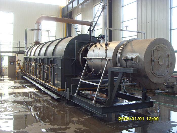 φ0.94x16.5米天然气回转窑(温度:1000℃。用途:稀土抛光粉)