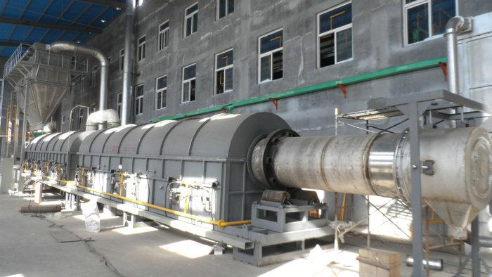 φ0.95x26米燃气回转窑(温度:970℃,用途:碳酸镁)
