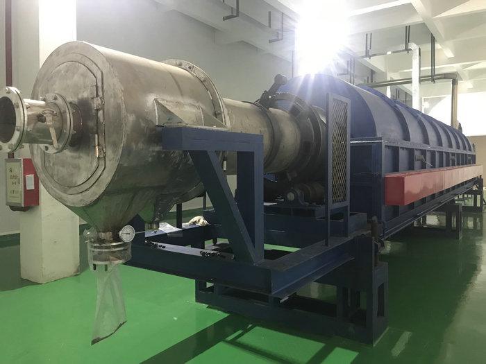 φ0.65-15米电热回转窑(温度:900℃,用途:化工粉体)
