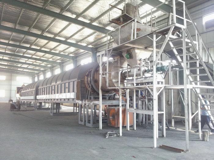 φ1.5-32米电热回转窑(温度:800℃,用途:锌灰)